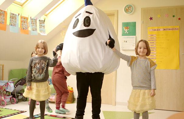 Akcja przedszkole jajo w Białymstoku